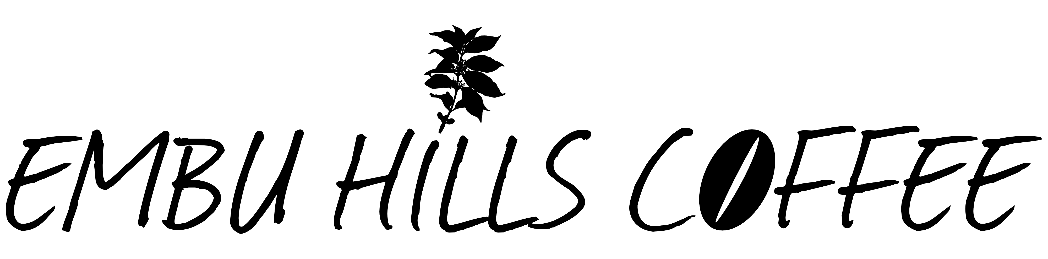 Embu Hills Coffee Logo schwarz