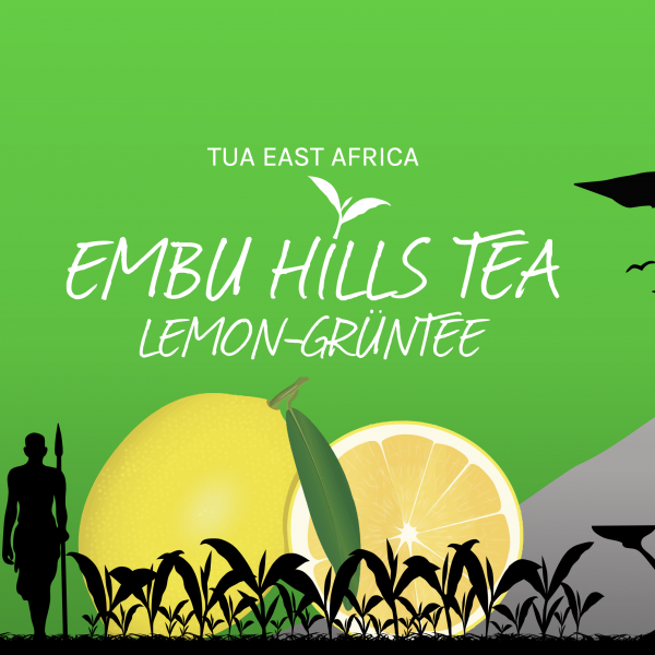 Embu Hills Tea Lemon Grüntee