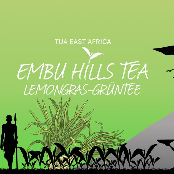 Embu Hills Tea Lemongras Grüntee