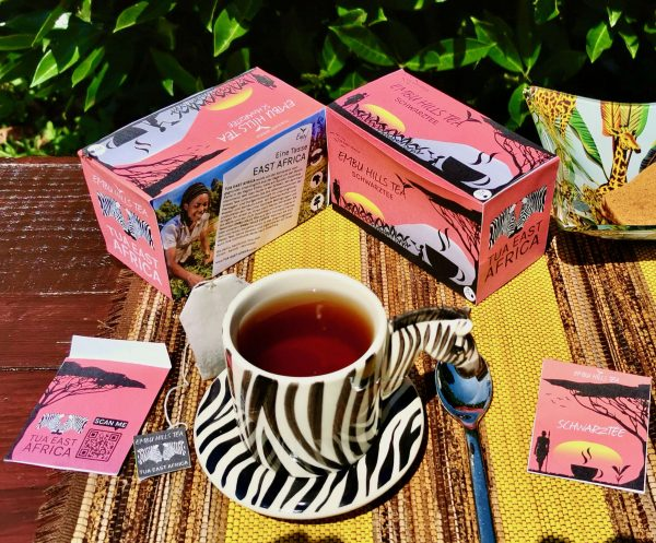 Verpackung Embu Hills Tea Schwarztee