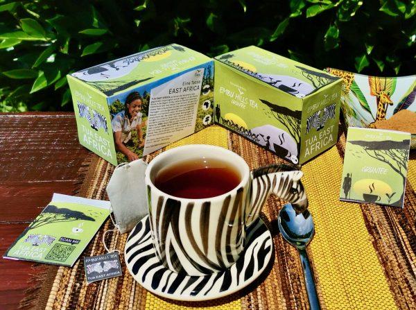 Verpackung Embu Hills Tea Grüntee