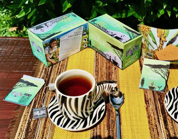 Verpackung Embu Hills Tea Lemongrass Grüntee