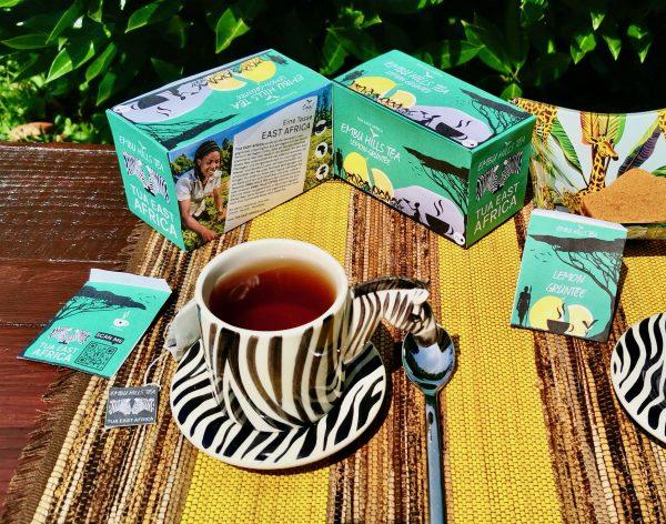 Verpackung Embu Hills Tea Lemon Grüntee