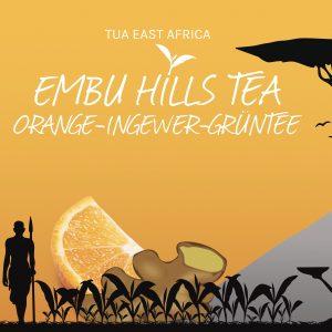 Embu Hills Tea - Orange Ingwer Grüntee